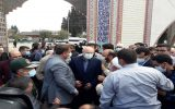 رئیس مجلس به شهدای بهشهر ادای احترام کرد/گفتوگوی بدون واسطه قالیباف با مردم