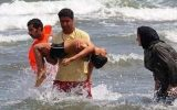 حضور چشمگیر گردشگران در سواحل مازندران / ١٠ نجات یافته حاصل تلاش منجیان غریق مازندران در نخستین روز پاییز